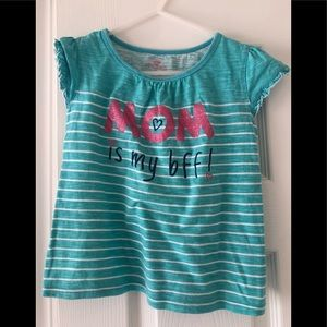 Mom is my BFF shirt size 6 Excellent shape